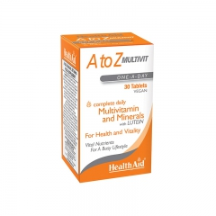Health Aid 維生素A to Z 30片/盒